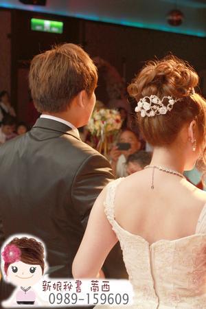 白紗造型.日系新娘髮型.可愛新娘髮型.俏麗新娘髮型.皇冠造型