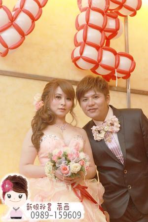 敬酒造型.日系新娘髮型.浪漫新娘髮型.側邊長髮新娘髮型.花朵新娘造型