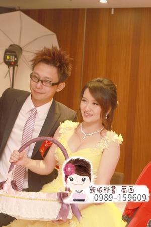 浪漫捲髮.公主風.鮮花.新娘造型