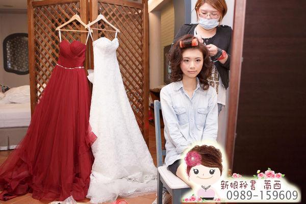訂婚.新娘.髮型.新秘.萳西