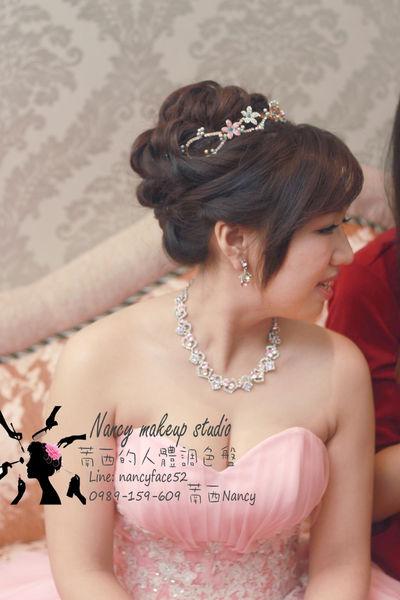 訂婚.盤髮.儀式.新娘.造型.新秘.萳西