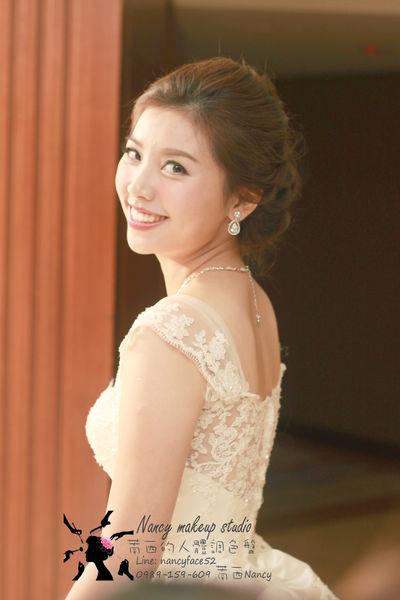 結婚.白紗.盤髮.新娘.造型.新秘.萳西