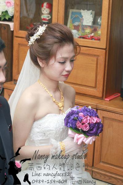 新娘秘書-萳西.白紗.盤髮.造型
